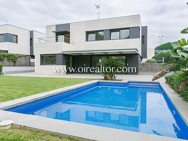 Casa de diseño a 4 vientos en Sant Andreu de Llavaneres