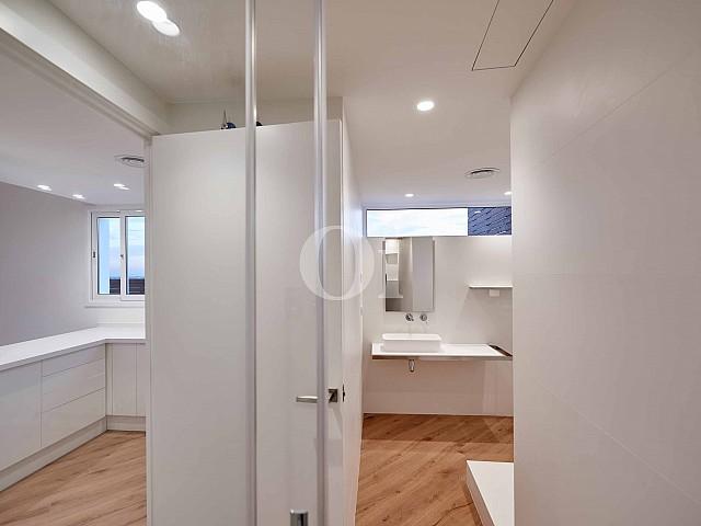 Vistes interiors del bany
