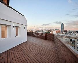 Impressionnant penthouse à côté de les Glories, Barcelone