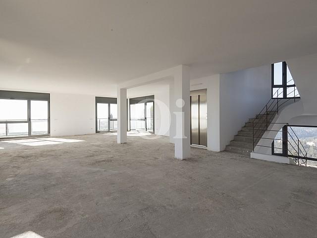 Espacios interiores abiertos
