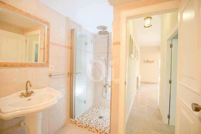 Baño equipado con ducha
