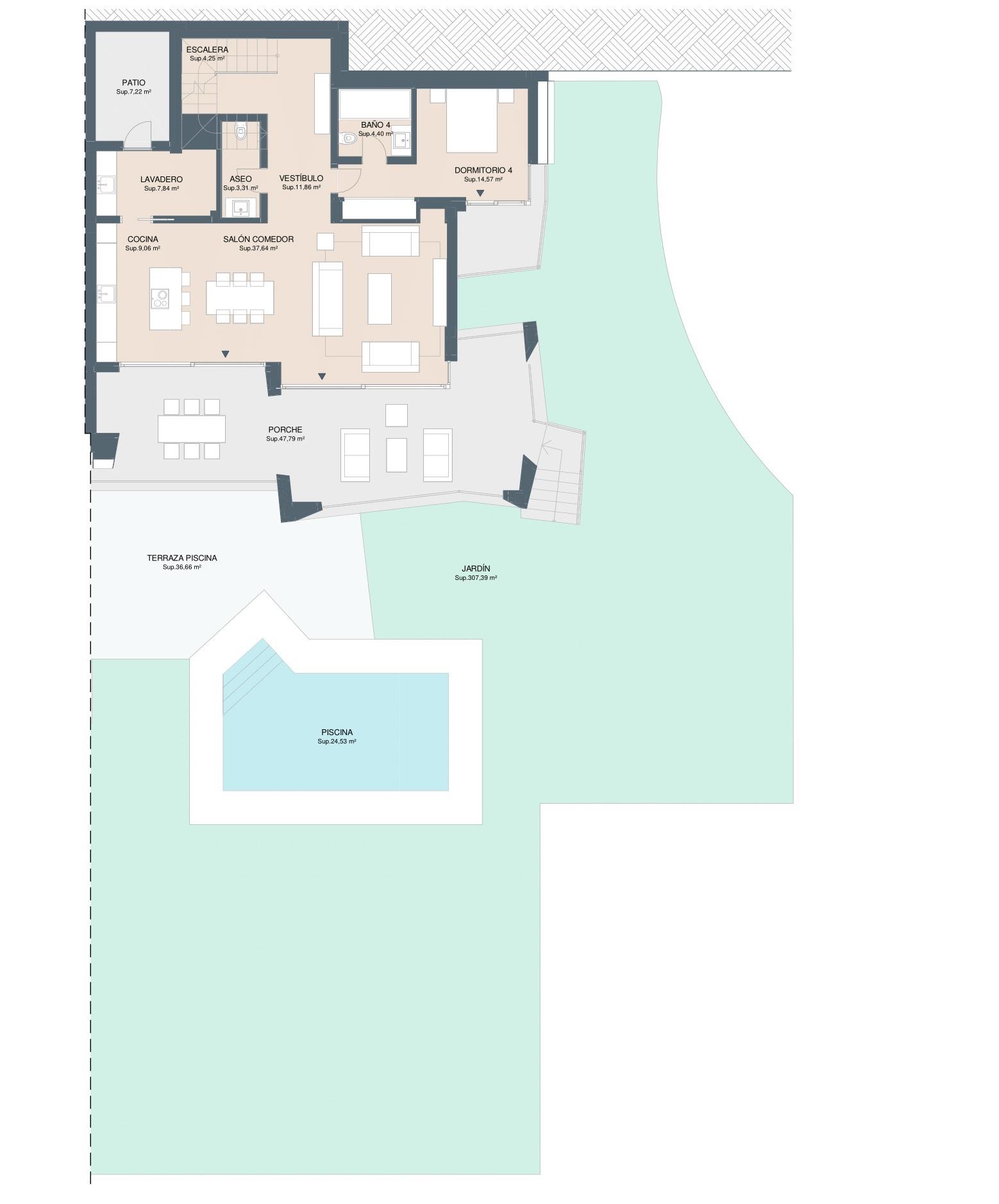 Элитные дома в жилом районе Марбельи