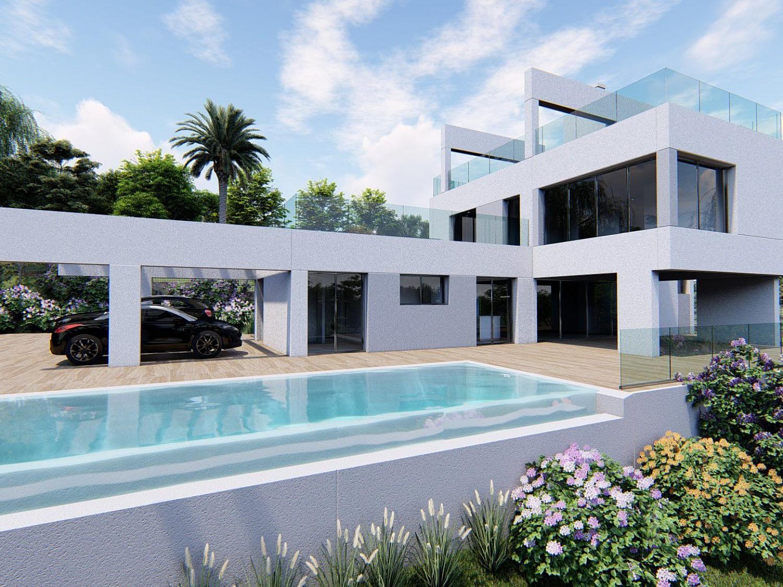 Вилла новой постройки на продажу в Новой Андалусии, Малага