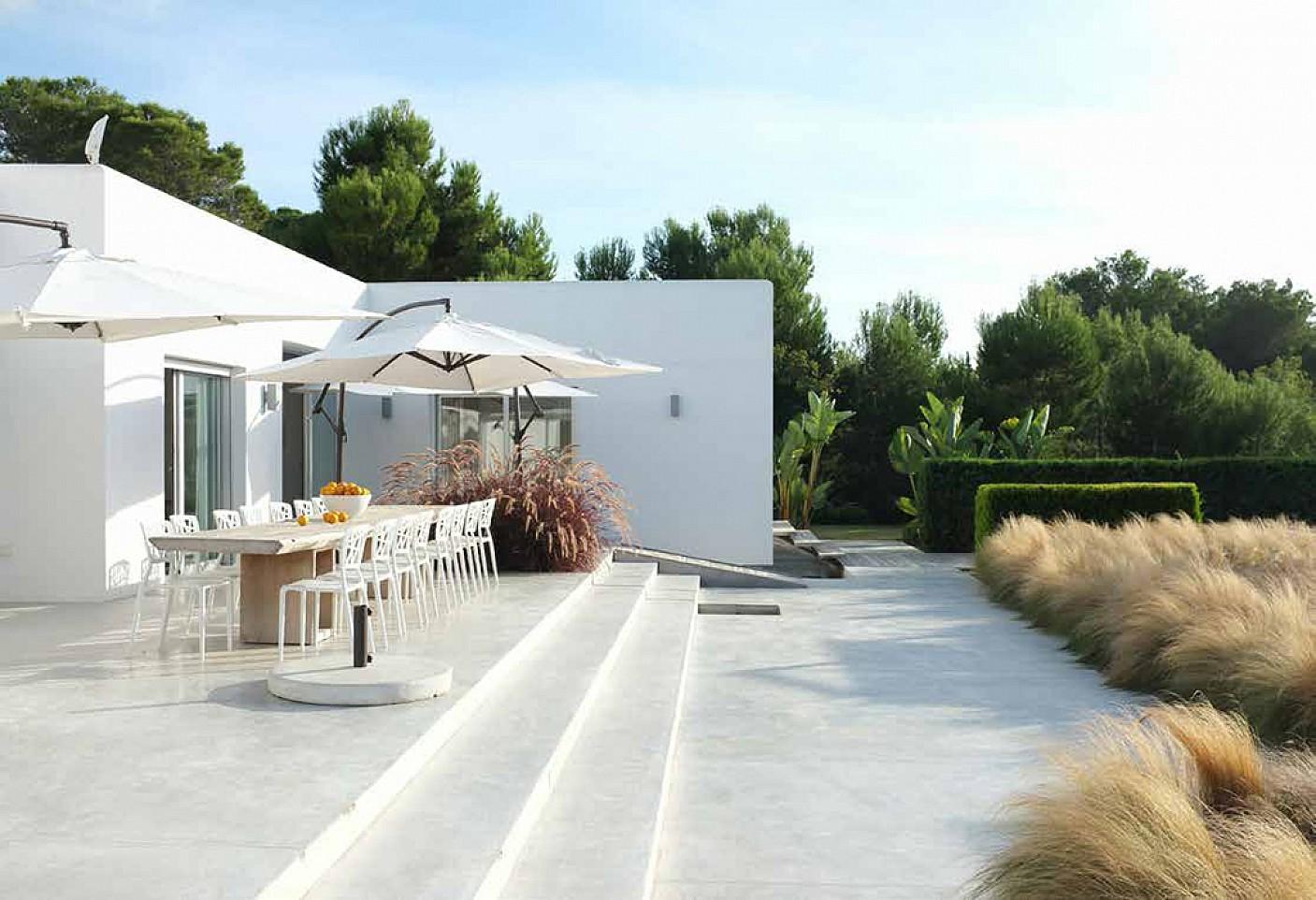 Terrassa amb espai de relaxament
