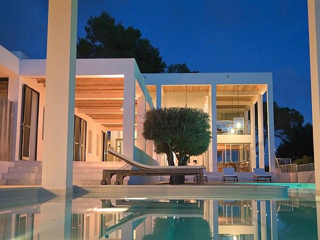 Casa minimalista en lloguer a prop de San Carles, Eivissa