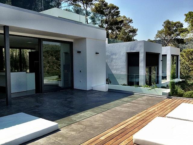 Acceso a la terraza