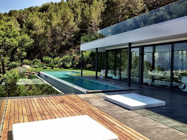 Impressionant vila de luxe en lloguer a prop d'Es Cavellet, Eivissa