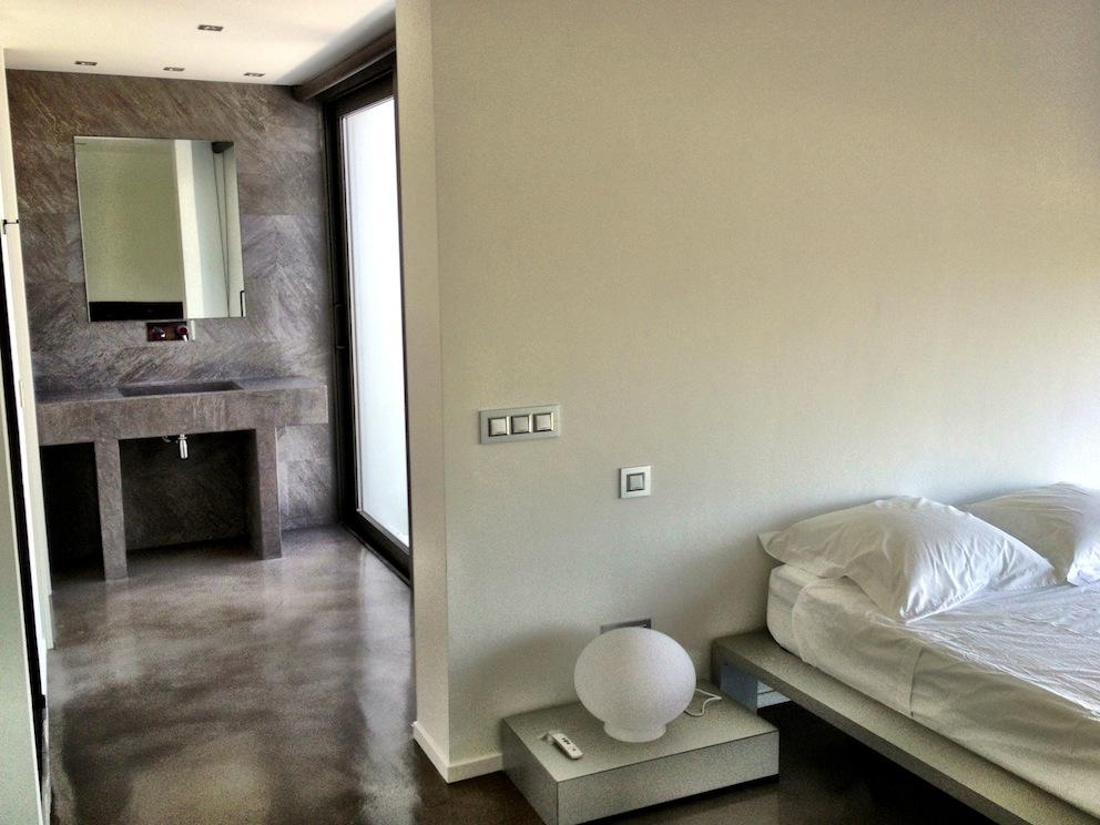 Гостиная виллы в аренду на Ибице