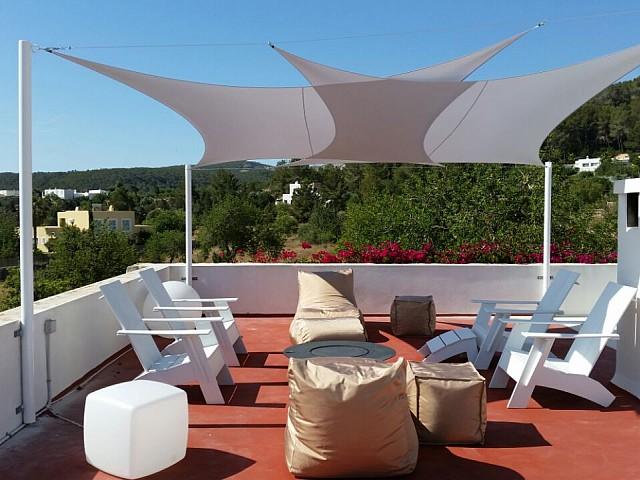 Gran terraza soleada