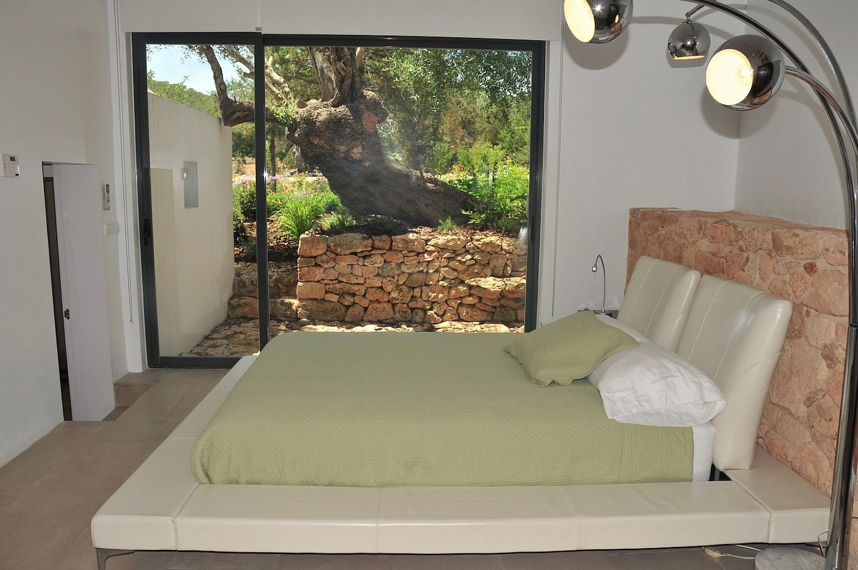 Спальня виллы в аренду в Сан Рафаэль