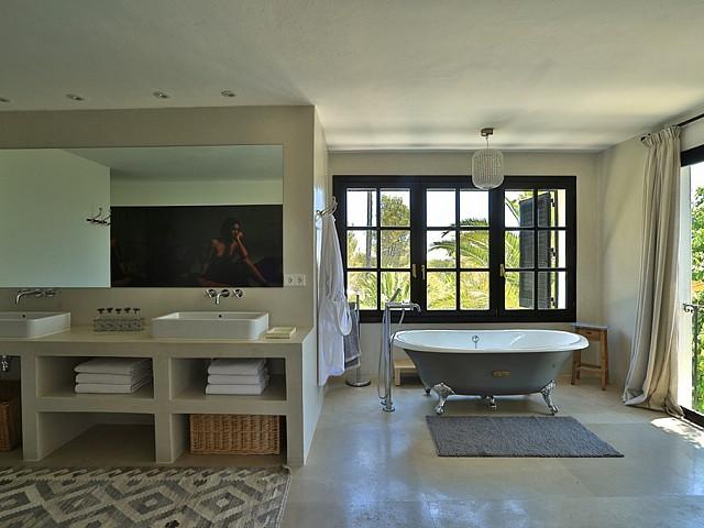 Ванная комната дома в аренду в Санта Жертрудис