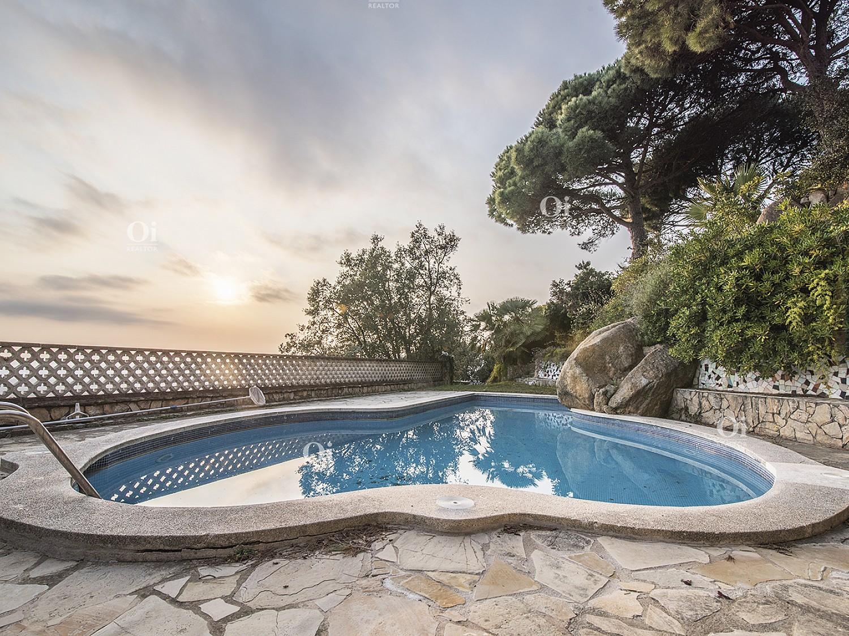 Отдельная вилла с панорамным видом на море, Льорет-де-Мар