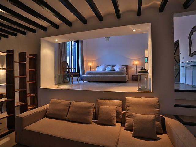 Шикарная спальня дома в аренду в Санта Жертрудис