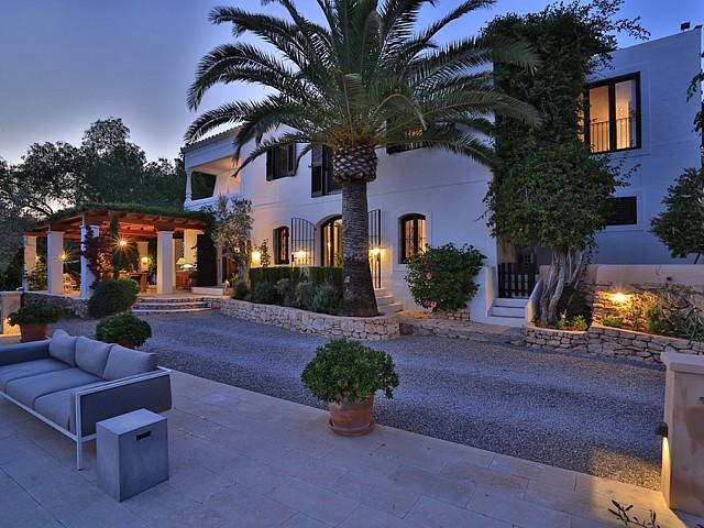 Vila de luxe elegant i impecable a Sant Gertrudis, Eivissa