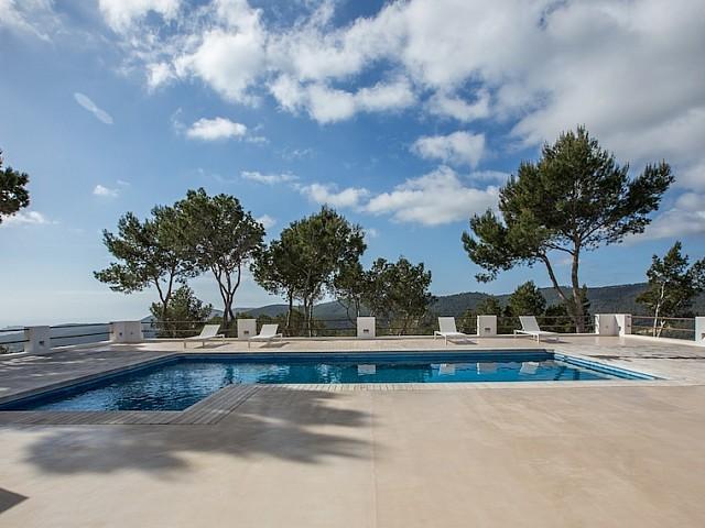Vila elegant en lloguer a 10 minuts del centre d'Eivissa