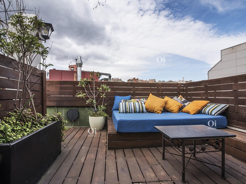 Красивый пентхаус с террасой 88м2 на площади Молина - Сант Жервази, Барселона
