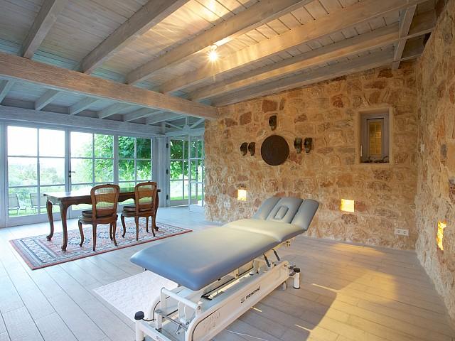 Sala de masajes