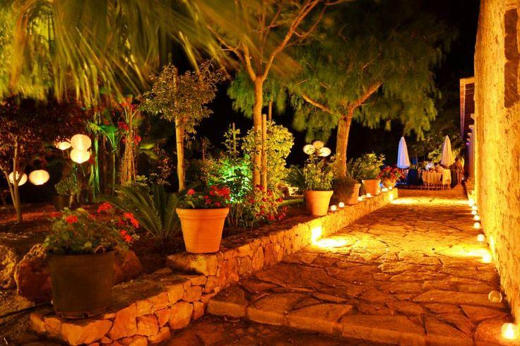 Buena iluminación de las terrazas