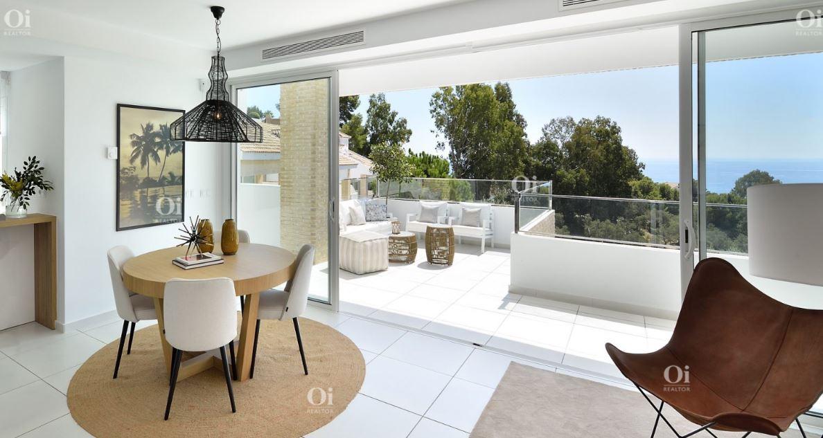 Новые строительные Виллы на Продажу в Бенальмадене, Малага