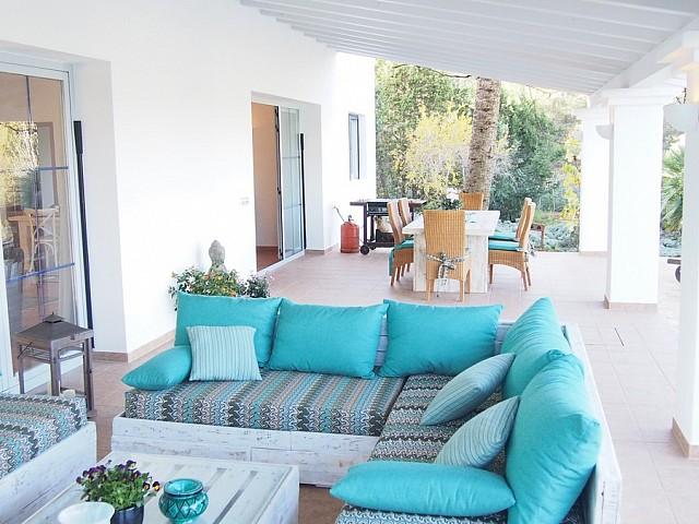 Красивая приморская вилла в аренду недалеко от Сан-Карлос, Ибица