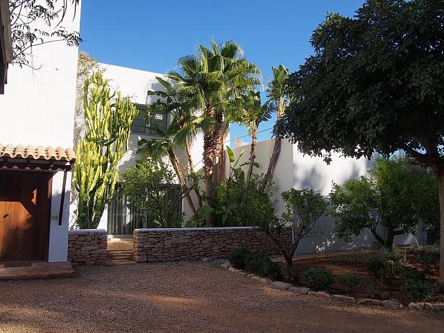 Vistas exteriores de la villa