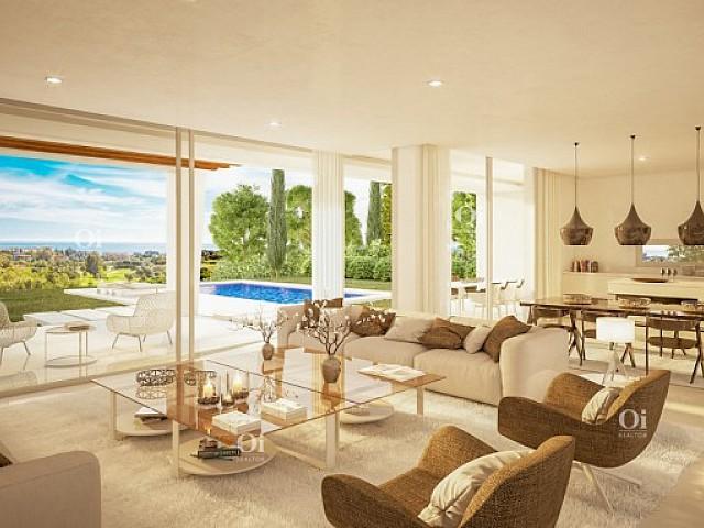 Villa di nuova costruzione in vendita a Marbella Est, Malaga