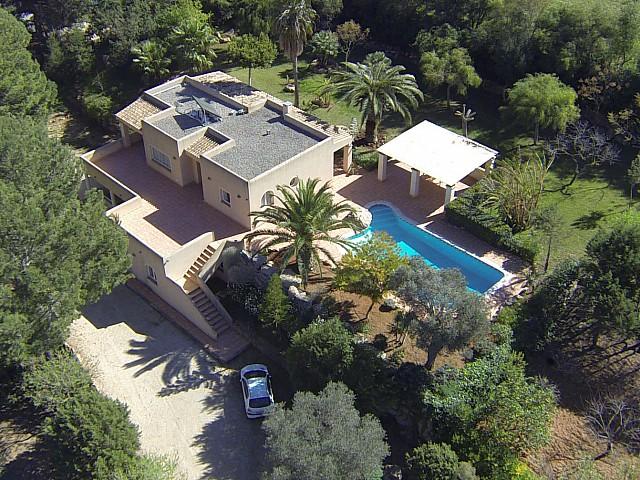 Fantàstica vila rústica a prop de San José, Eivissa