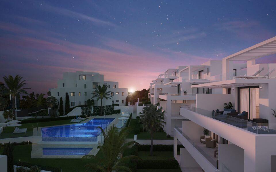 Квартиры в новостройке на продажу в El Campanario, Эстепона, Малага