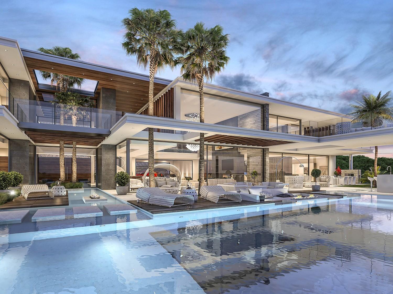 Роскошная вилла новой постройки на продажу Benahavis, Малага