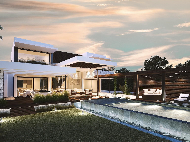 Новая строительная вилла на продажу в Эстепоне, Малага