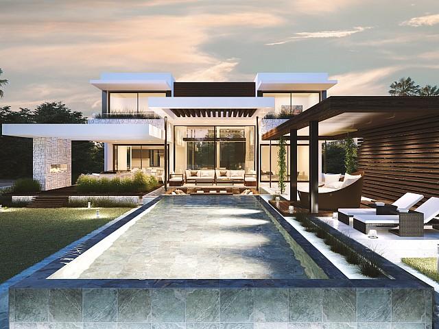 Villa de nouvelle construction à vendre à Estepona, Malaga
