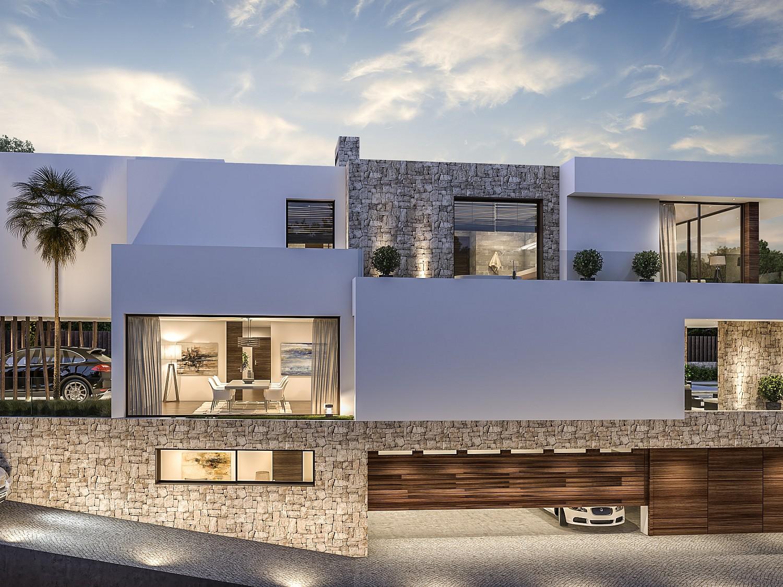 Продается новая строительная вилла в Guadalmina Baja, Марбелья, Малага
