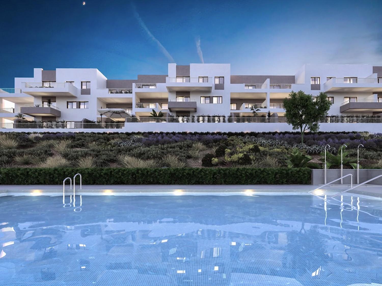 Новые строительные квартиры на продажу в Бенальмадена, Малага