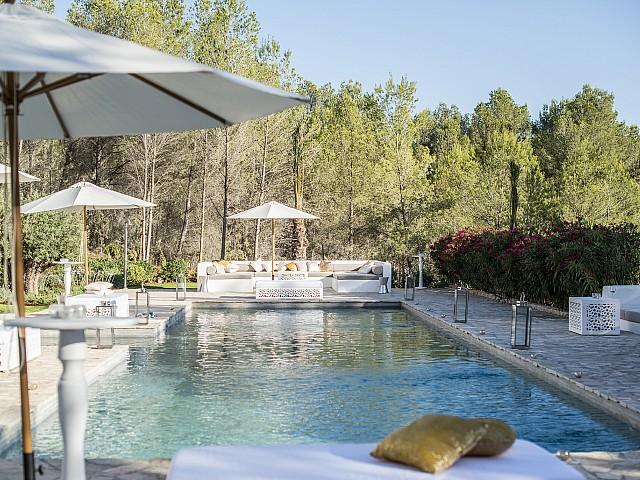 Impressionant vila amb un aire tradicional i modern a San Rafael, Eivissa
