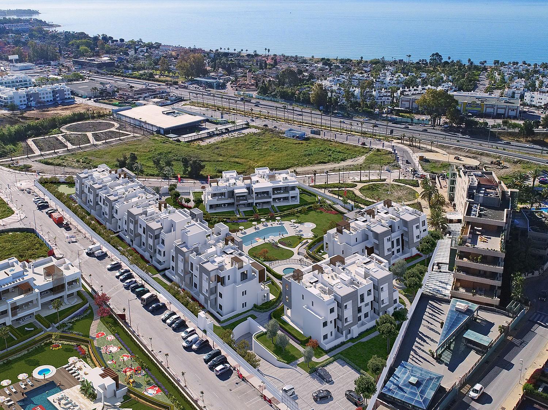Новые квартиры для продажи в NEW GOLDEN MIL, Эстепона, Малага