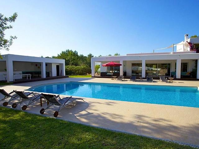 Preciosa vila moderna en lloguer a 15 min. d'Eivissa, Santa Gertrudis