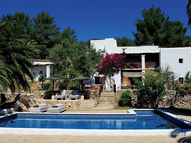 Encantadora villa rústica en alquiler cerca de San José, Ibiza