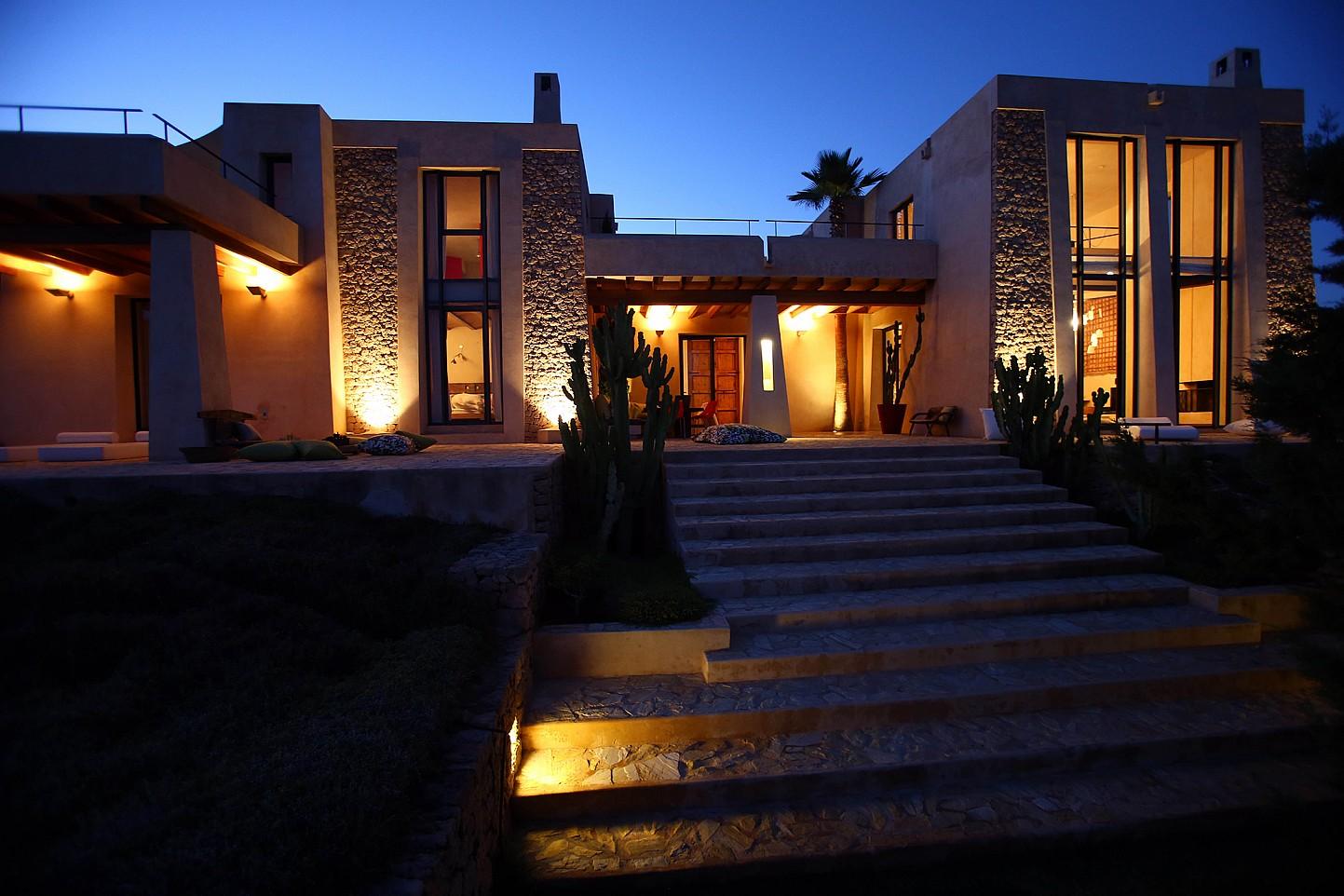 Iluminación de la casa