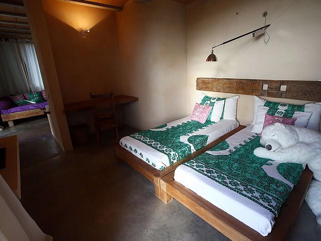 Уютная спальня виллы в аренду в Эс Кубелес