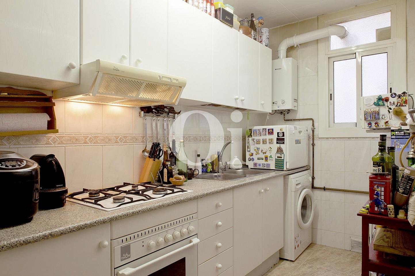 Оборудованная кухня  квартиры на продажу в Равале