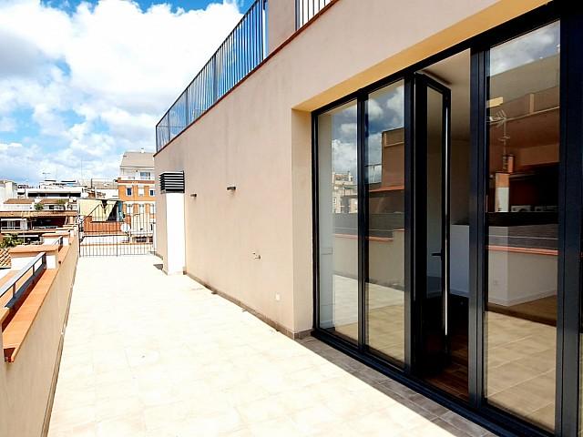 Penthouse zu vermieten in L'Hospitalet de Llobregat, Barcelona.