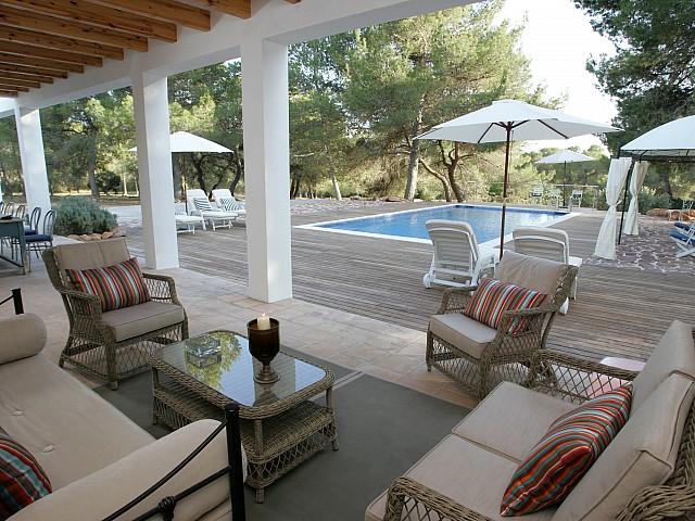 Impressionant vila a només 1,5 km de Cala Jondal, Eivissa