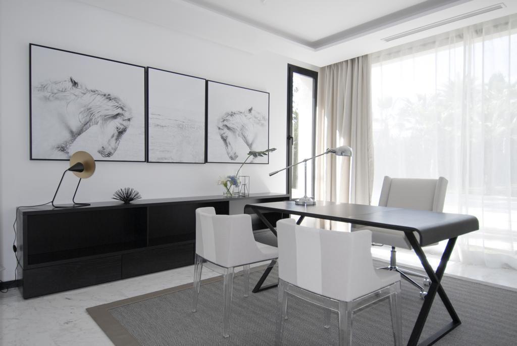 Впечатляющая новая строительная вилла на продажу в Guadalmina Baja, Марбелья, Малага