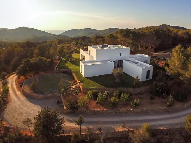 Vistas de los accesos a la propiedad