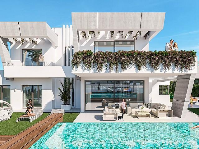 New Construction Villas for Sale in Puerto Banus, Marbella, Malaga