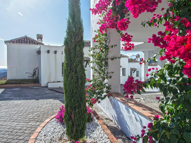 Дом в андалузском стиле в Сьерра-Бланка, Истан, Малага