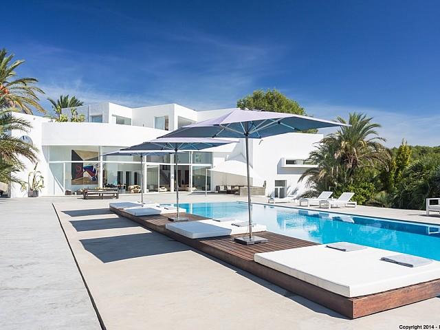 Impressionant vila en lloguer contemporània a Santa Gertrudis, Eivissa