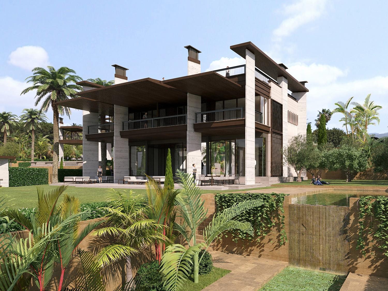 Новые строительные Виллы на Продажу в Пуэрто Банус, Марбелья, Малага