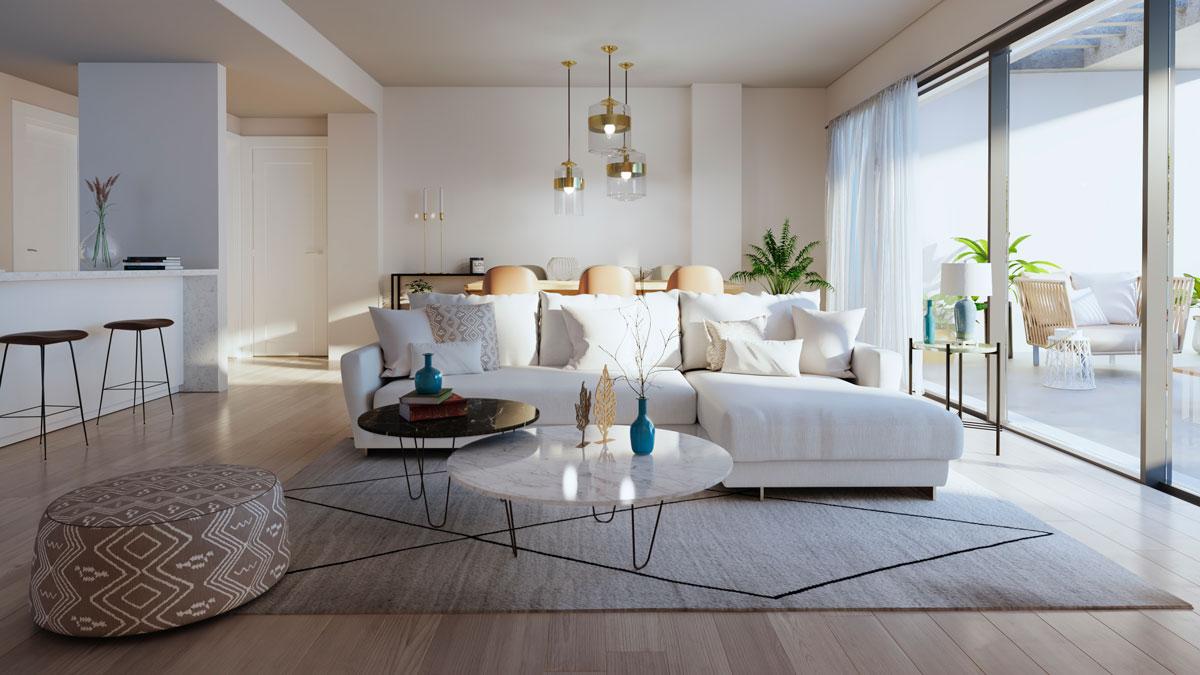 Новые квартиры на продажу в Кала де Михас, Малага