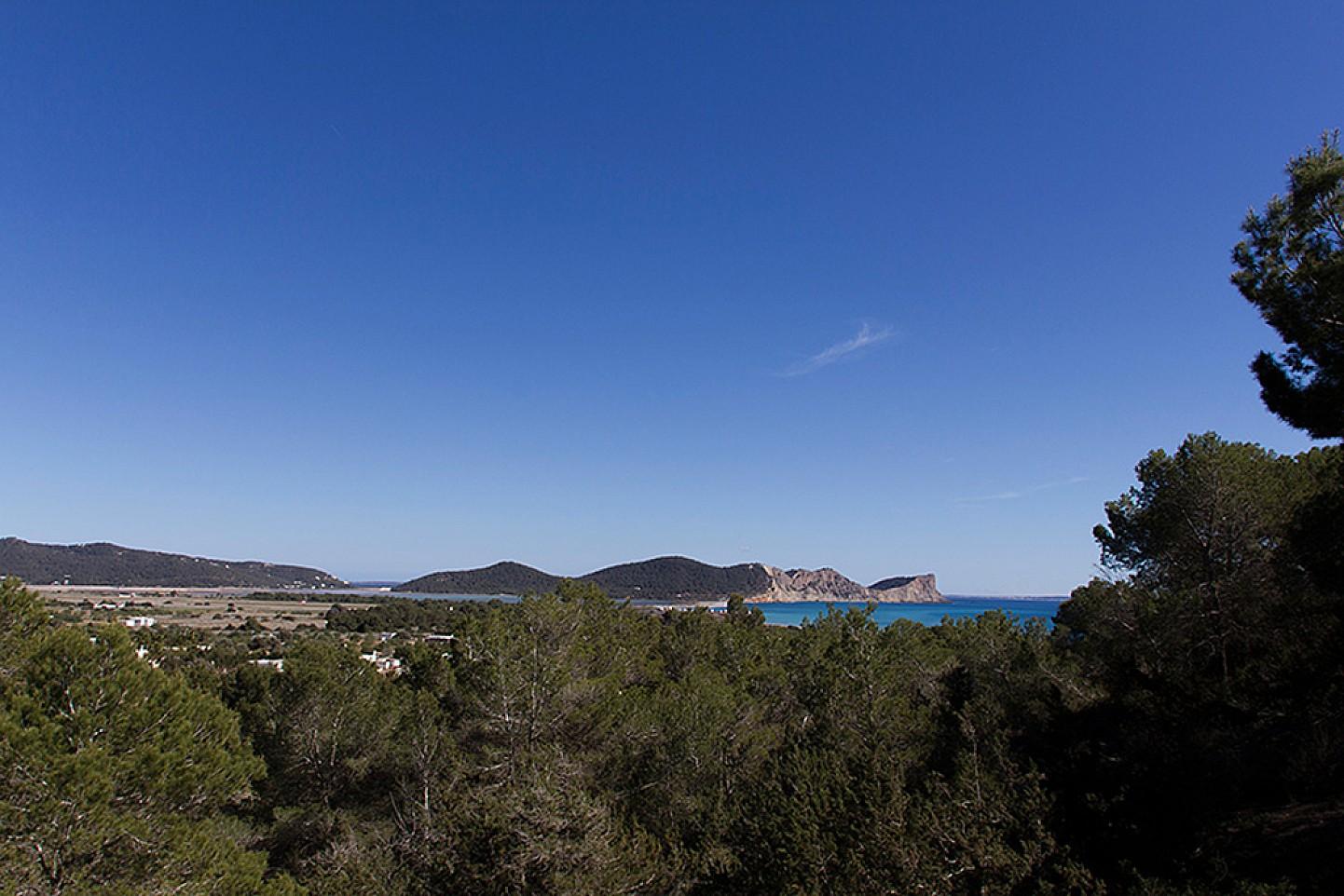 Magníficas vistas al mar desde la casa